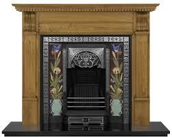 aladdin cast iron fireplace insert