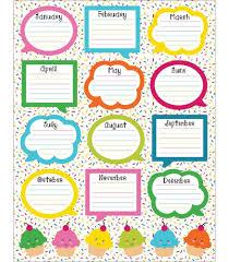 62 Memorable Designs For Birthday Chart