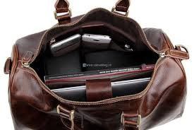 home leather messenger bag