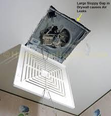 Ceiling Fan Bathroom Replacing