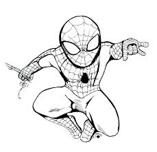Spider Man Coloring Campingrochemaux Info