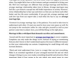 Essay Paper On Arranged Marriages