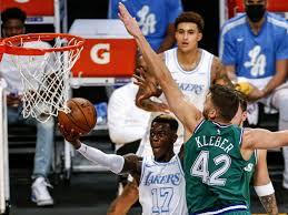NBA: Dennis Schröder siegt mit den Lakers gegen Klebers Mavericks