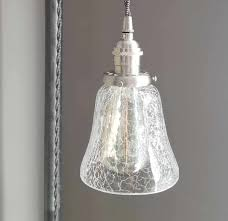 Crackle Glass Light