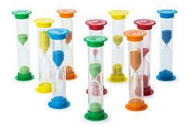 Set Timer 1 Min Sand Timer Set 10pcs Pack 2x 30 Sec 1 Min 2 Min 3 Min 5 Min Colorful Set Of Hour Glasses For Kids Adults Colors Blue Green Red