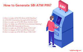 how to generate sbi atm pin infofriendly