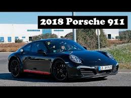 2018 porsche carrera. exellent carrera nextgeneration 2018 porsche 911 spy photographers have already snapped an  early mule  youtube to porsche carrera d