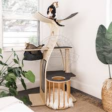 Modern Design Cat Furniture Introducing Ultra Modern Cat Trees You And Your Cat Will