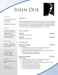 Attractive Resume Templates Free Resumes Tips Inspiration Attractive Resume Samples