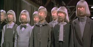 Village Damned All kids   Taste Of Cinema - Movie Reviews and Classic Movie  Lists
