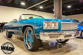 Whips By Wade: Candy Teal 1975 Chevrolet Caprice Convertible on 26 ...