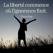 Freedom Begins When Ignorance Ends Quotes Citation Citation