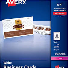 Avery Business Cards Template 5371 The Hakkinen