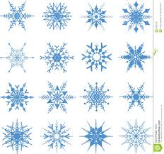 Christmas Snowflakes Pictures Christmas Snowflakes Background Stock Vector Illustration