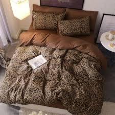 cheetah 100 cotton duvet cover