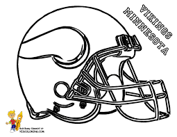 free football coloring page of vikings see n match team colors for best crayon coloring at yescoloring