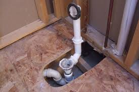 installing a new shower drain pipe designs