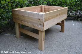 build elevated garden bed. Modren Garden With Two Beds  In Build Elevated Garden Bed T