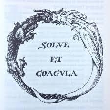 Coagula Light Solve Et Coagula Ouroboros Tattoo Alchemy Symbols Occult