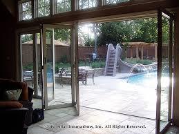 collapsible doors design unique best folding glass patio doors