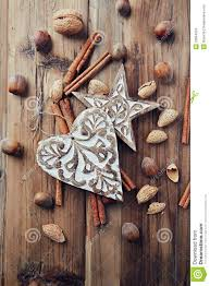 Rustic Christmas Ornaments Rustic Christmas Decorations And Ingredients For A Stock Photos