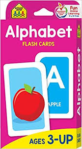 School Zone Alphabet Flash Cards Ages 3 And Up