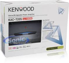 kenwood kac 7205 (kac7205) 1000w 2 channel car amplifier Kenwood Amp KAC-7205 at Kenwood Kac 7205 Wiring Diagram