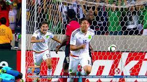 MEXICO VS TRINIDAD Y TOBAGO 3 - 3 ...