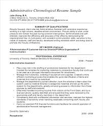 10+ Senior Administrative Assistant Resume Templates – Free Sample ...