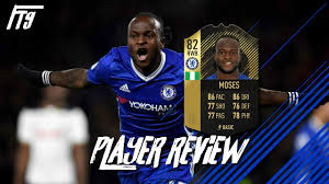 INFORM VICTOR MOSES PLAYER REVIEW - IF VICTOR MOSES - FIFA 18 ULTIMATE TEAM