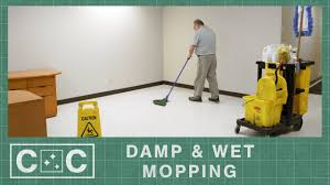 how to d wet mop a floor clean care