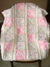 Baby Rag Quilt With Easy Video Tutorial | Rag quilt, Baby rag ... & Shabby Chic Crib/Toddler Quilt Rag Quilt in Pink Adamdwight.com