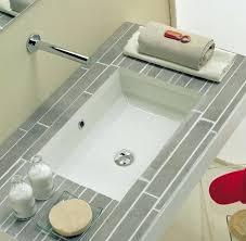 White Undermount Bathroom Sinks Bathroom Design Ideas Using White