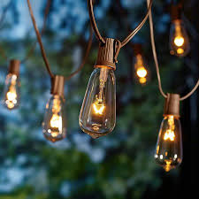 lighting strings. Better Homes And Gardens Outdoor Glass Edison String Lights, 10 Count Lighting Strings Walmart