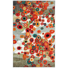 rectangle orange beige modern polypropylene casablanca area rug rugs colorful living room western rustic leather local s dining plush for