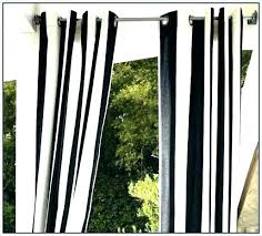 Black And White Vertical Striped Curtains Black And White Striped ...