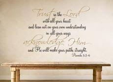 trust in the lord proverb wall decal on spiritual wall art stickers with religious spiritual decals trading phrases