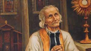 John vianney, venerated as saint john vianney, was a french catholic priest who is venerated in the catholic church as a saint and as the pa. Aug 8 St John Vianney Patron Of Priests District Of The Usa