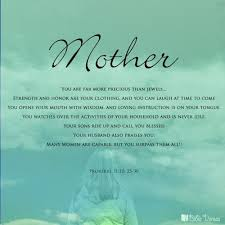 Bible Quotes About Mothers Custom Most Beautiful Inspirational Quotes On Mothers Day Isabella