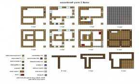 Small Picture Minecraft House Blueprints Free Home Deco Plans