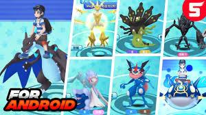 Pokemon Android Game With Mega Evolution & GEN7 (2018) - YouTube