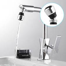 Kitchen Faucet Swivel Aerator Sink Water Faucet Tip Swivel Nozzle Adapter Kitchen Aerator Tap