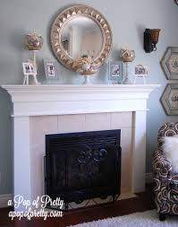 awesome spring fireplace mantel ideas images design ideas