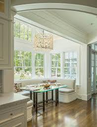 White Breakfast Nook Kitchen Natural Elegance Breakfast Nook Ideas With Rectangle