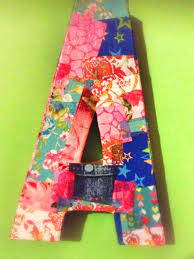 Paper Mache Decorating How Too Use Decopatch To Decorate Paper Mchc Letters Mummy Of
