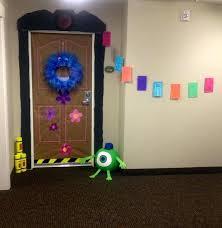 Monsters Inc Bedroom Accessories Monster Inc Room Decor College Dorm Door  Decorating Ideas The Creative High