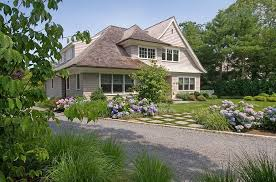 front yard landscaping with hydrangeas barry block landscape design contracting east moriches ny