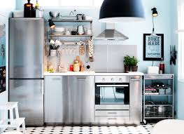 design kitchen furniture. Delighful Kitchen A Stainless Steel Kitchen With A Fridgefreezer On The Left Hand Side  Cupboards Inside Design Furniture