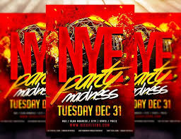 free flayers best free christmas and new year psd flyers to promote your event