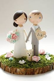 14 Cute Creative Wedding Cake Toppers Mrs2be